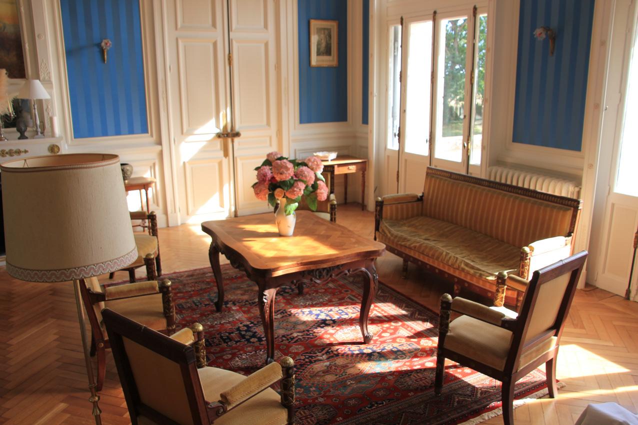 ch teau du gerfaut chambres d 39 h tes azay le rideau. Black Bedroom Furniture Sets. Home Design Ideas